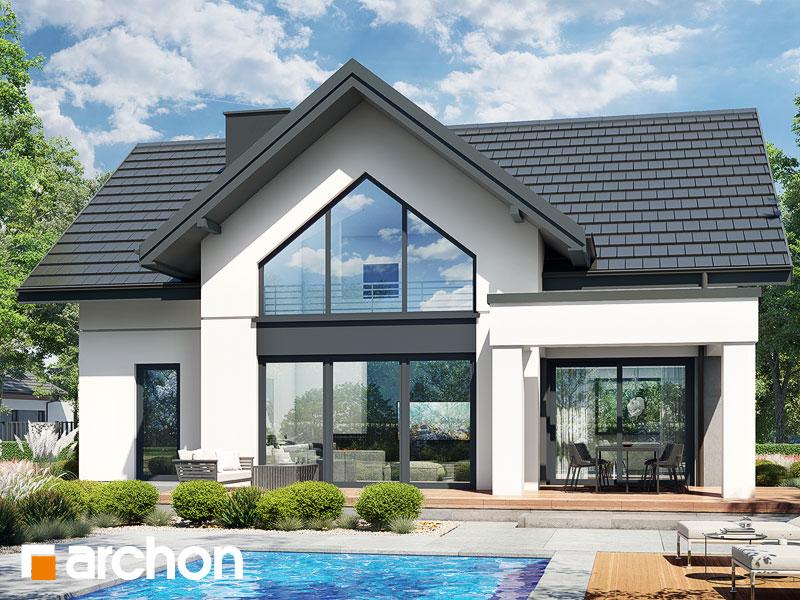 gotowy projekt Dom w szampionach widok 1