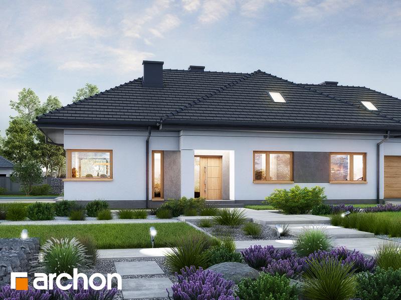 gotowy projekt Dom w santolinach 5 (G2) widok 1