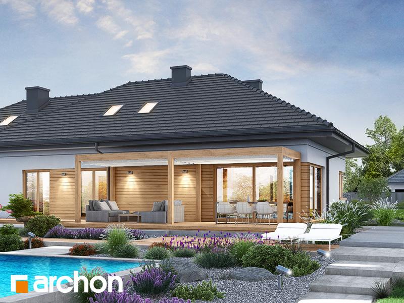 gotowy projekt Dom w santolinach 5 (G2) widok 2