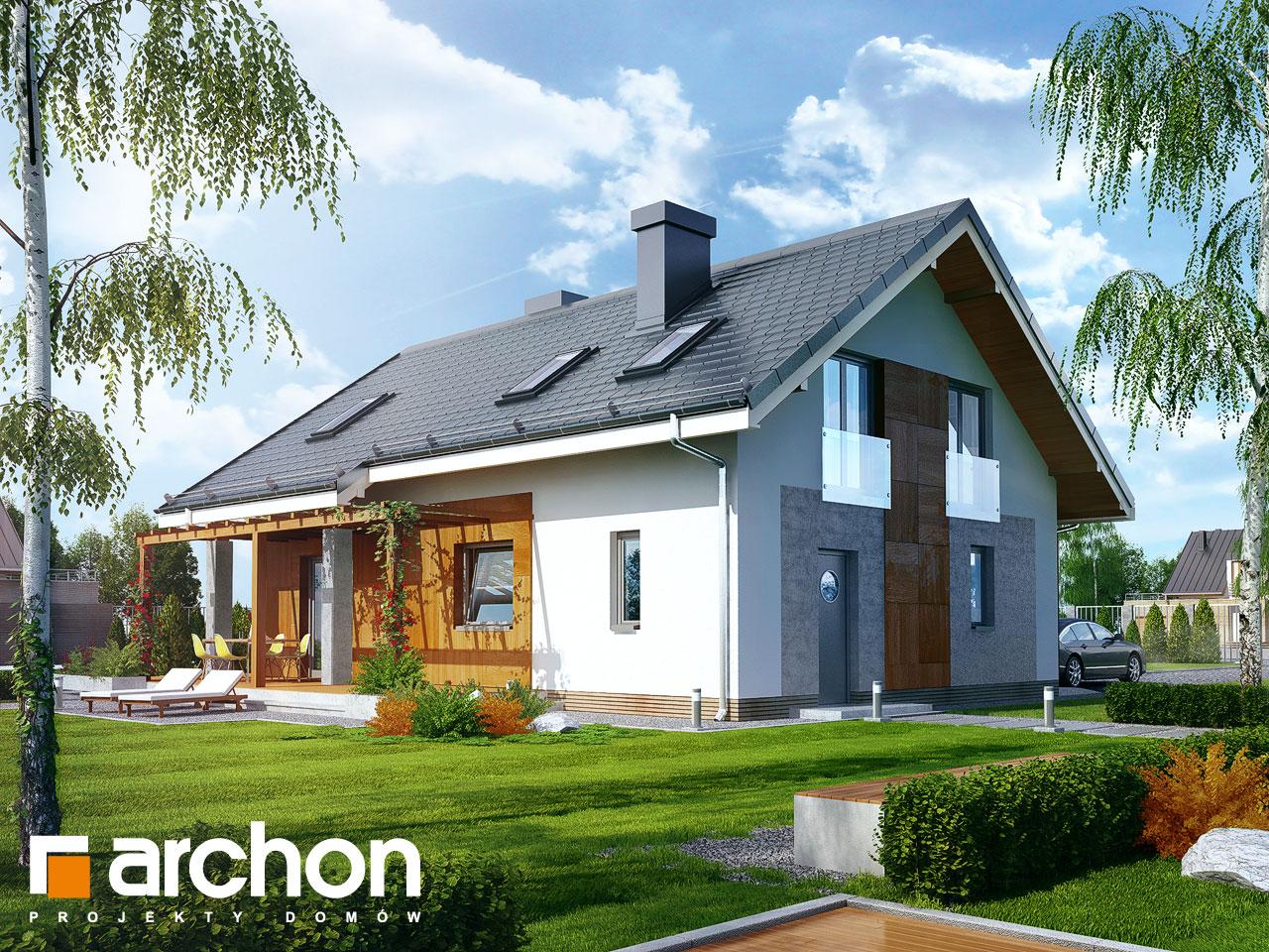 Projekt domu dom miniaturka 2 n ver 2 archon for Case in stile