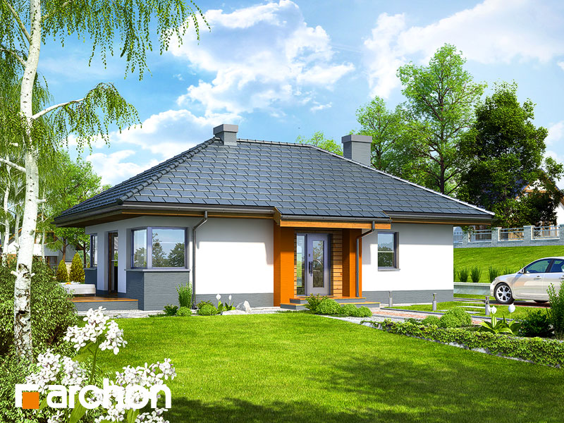 gotowy projekt Dom w majówkach widok 1