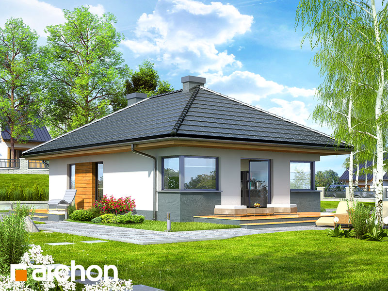 gotowy projekt Dom w majówkach widok 2
