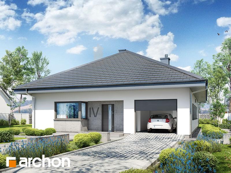 Projekt domu jednorodzinnego Dom w cieszyniankach (E)