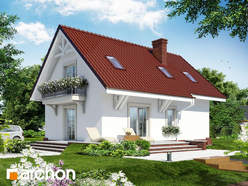 gotowy projekt Dom w portulankach widok 1