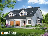 Widok 1 projekt blizniak w jednej dokumentacji dom w klematisach 7 b ver 3 1575373400  259