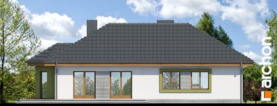 Elewacja boczna projekt dom w powojach 2 ver 2  266