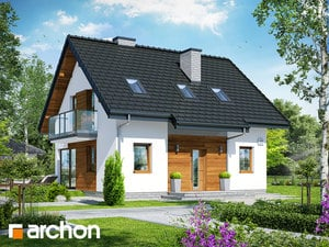 gotowy projekt Dom w borówkach 4