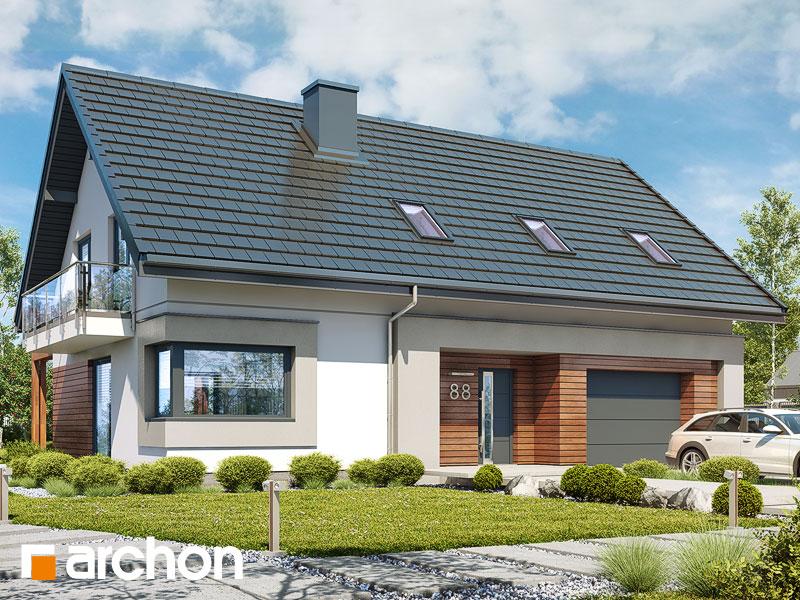 gotowy projekt Dom w goździkowcach 3 widok 1