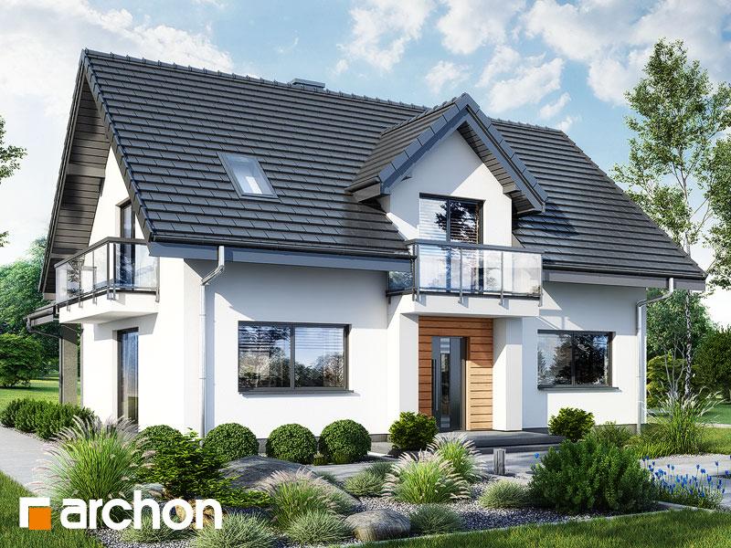 gotowy projekt Dom w lucernie 11 widok 1