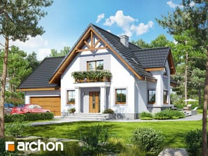 gotowy projekt Dom w morelach 2 (G2)
