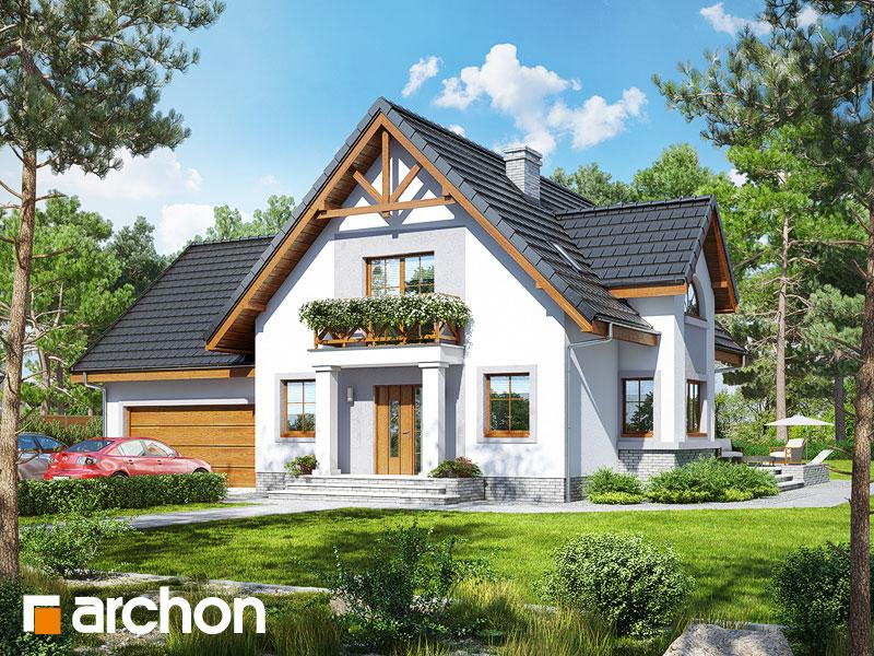 gotowy projekt Dom w morelach 2 (G2) widok 1