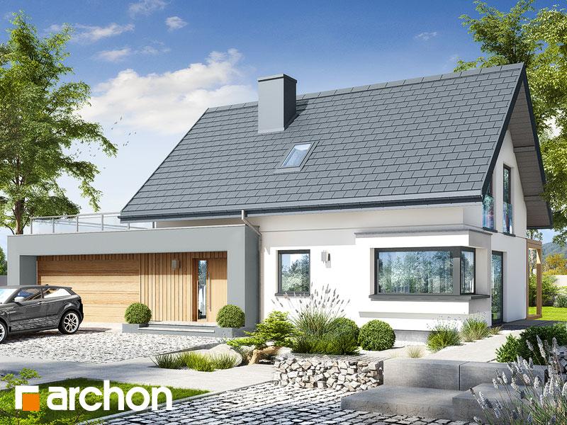 gotowy projekt Dom w zielistkach 19 (G2P) widok 1