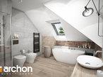 projekt Dom w śliwach (G2P) Wizualizacja łazienki (wizualizacja 3 widok 3)