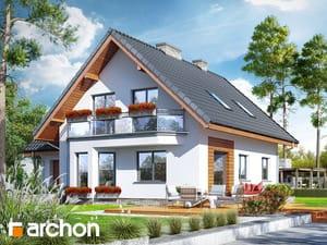 projekt Dom na polanie 3 (P) widok 2