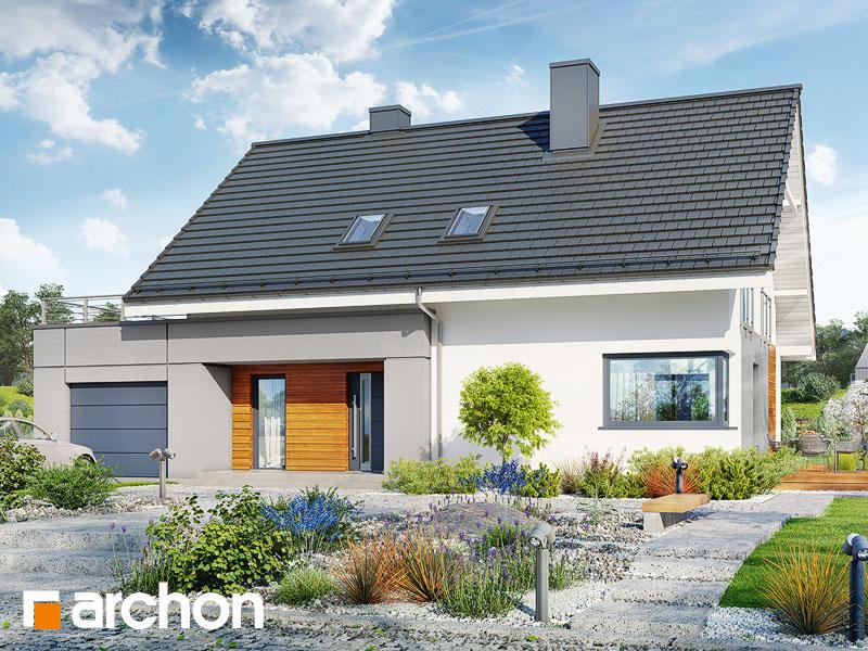 projekt Dom w malinówkach 4 (G) widok 1