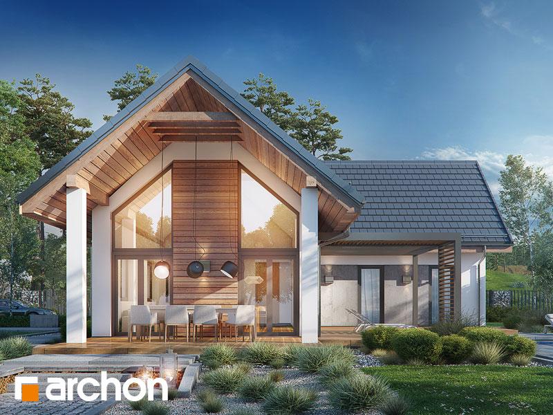 gotowy projekt Dom w marzankach 2 widok 1