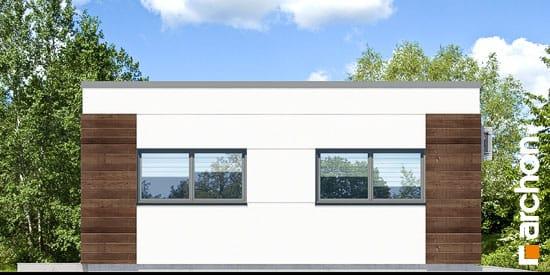 Elewacja boczna projekt garaz 2 stanowiskowy g21  266