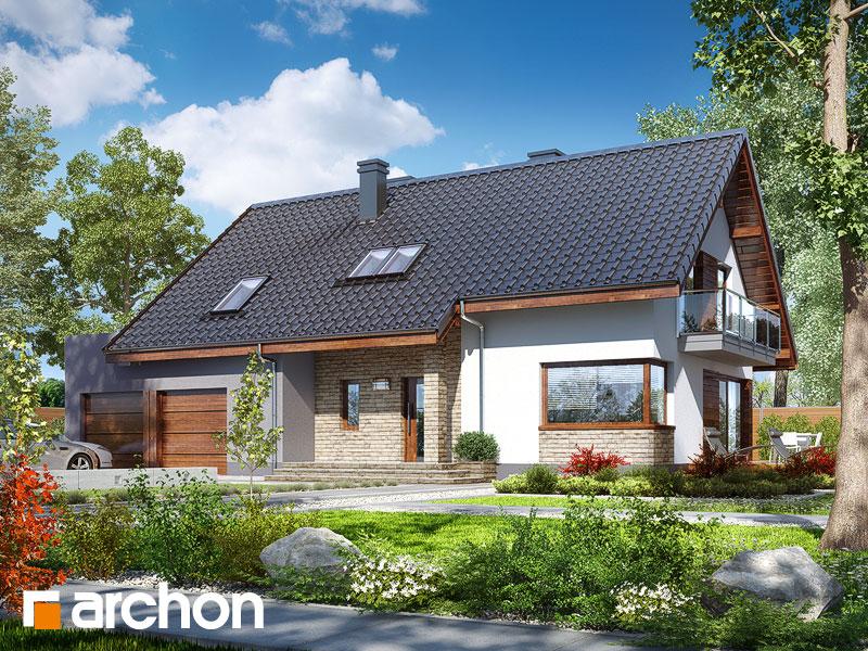 gotowy projekt Dom w idaredach 6 (G2) widok 1