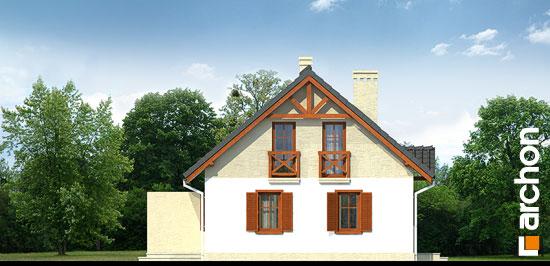 Elewacja boczna projekt dom w borowkach r2 ver 2  266