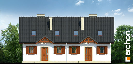 Elewacja frontowa projekt dom w borowkach r2 ver 2  264
