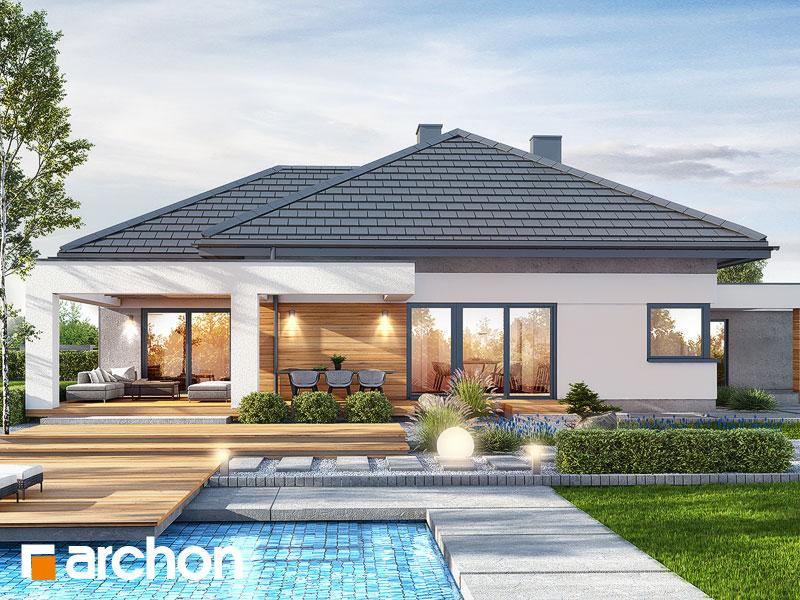 gotowy projekt Dom w nigellach (G2) widok 1