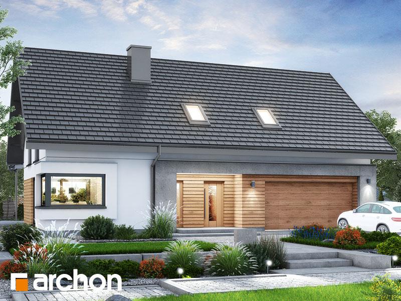 gotowy projekt Dom w goździkowcach 4 (G2) widok 1