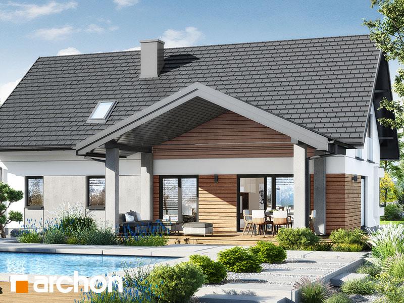 gotowy projekt Dom w goździkowcach 4 (G2) widok 2