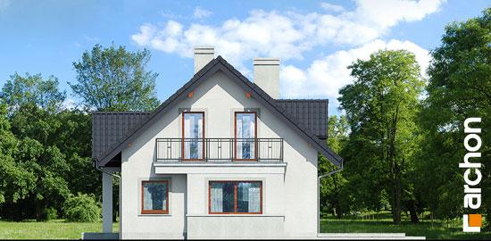 Elewacja boczna projekt dom pod jemiola 3 ver 2  265