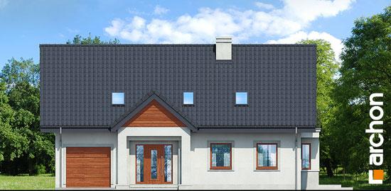 Elewacja frontowa projekt dom pod jemiola 3 ver 2  264