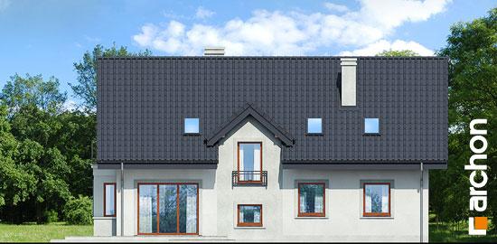 Elewacja ogrodowa projekt dom pod jemiola 3 ver 2  267