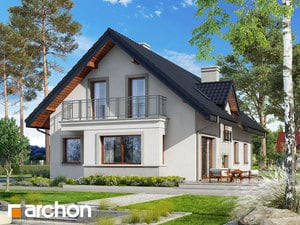 projekt Dom pod jemiołą 3 widok 2