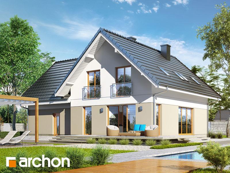 gotowy projekt Dom w miłowonkach 2 (G2) widok 1