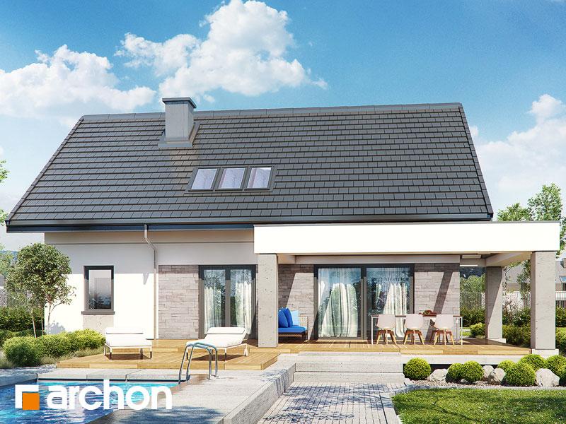 gotowy projekt Dom w goździkowcach (A) widok 1