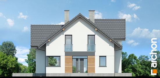 Elewacja frontowa projekt dom pod sofora 2  264