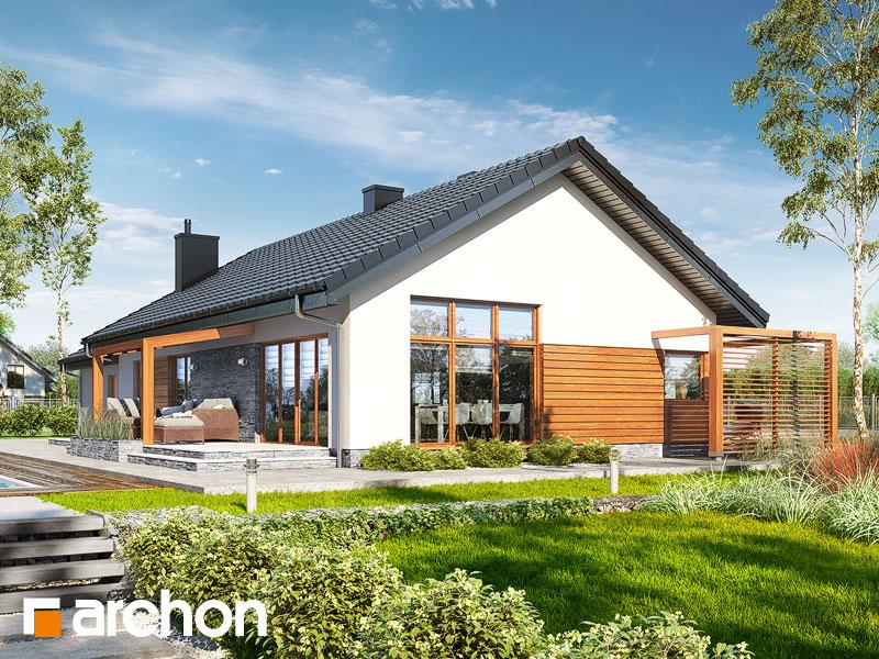 gotowy projekt Dom w mekintoszach 4 (G2M) widok 2