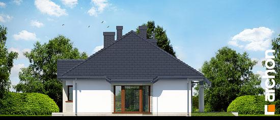 Elewacja boczna projekt dom w gaurach n ver 2  265