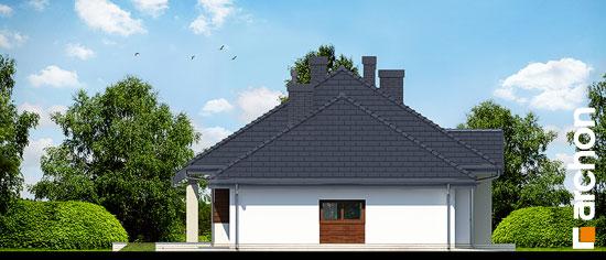 Elewacja boczna projekt dom w gaurach n ver 2  266