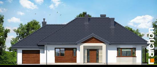 Elewacja frontowa projekt dom w gaurach n ver 2  264