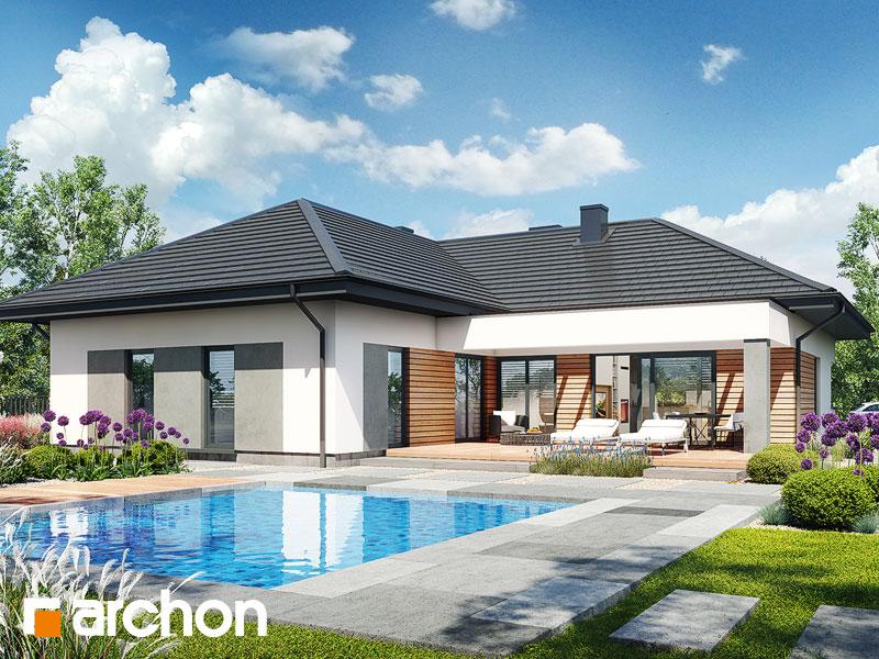 gotowy projekt Dom w iteach (G2) widok 1