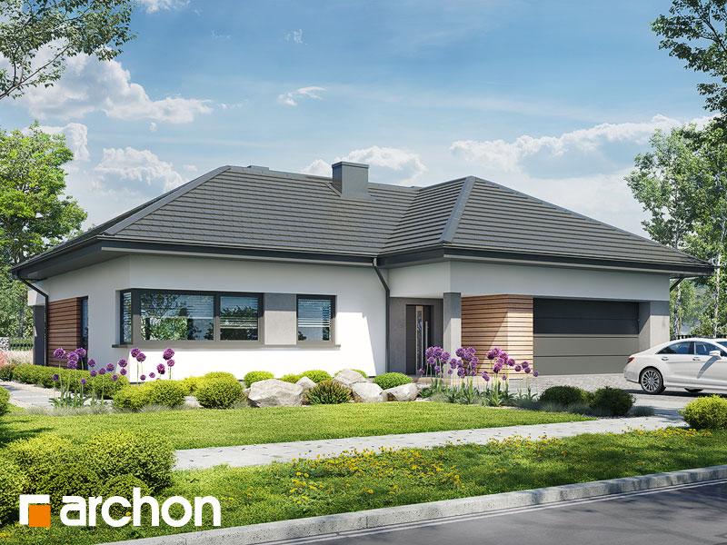 gotowy projekt Dom w iteach (G2) widok 2