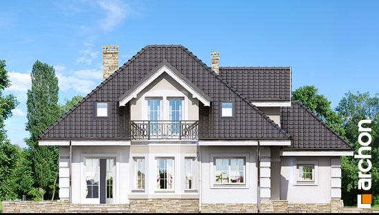 Elewacja boczna projekt dom w rukoli ver 2  266