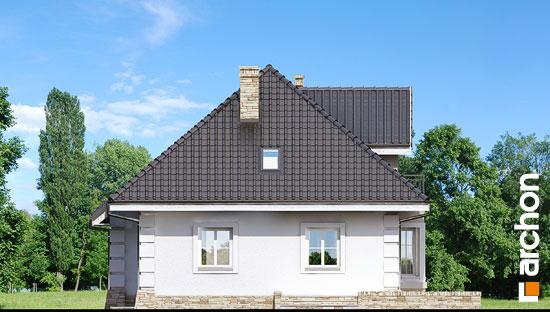 Elewacja ogrodowa projekt dom w rukoli ver 2  267