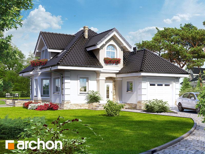 gotowy projekt Dom w rukoli widok 1