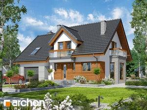 projekt Dom w tamaryszkach 4 (N)