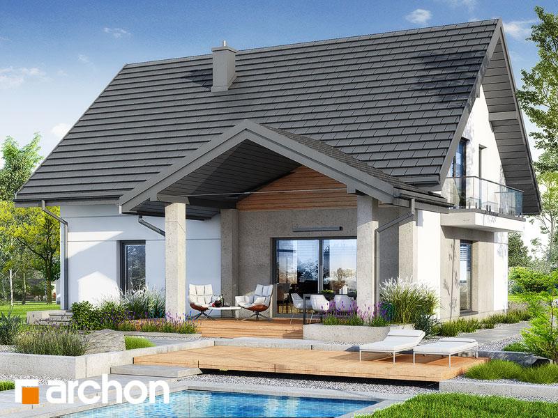gotowy projekt Dom w lucernie 14 (E) widok 2