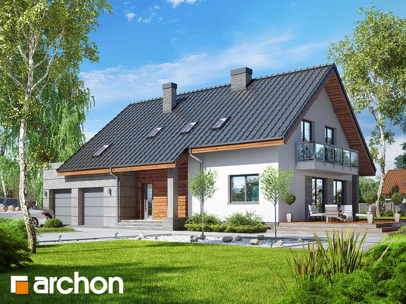 projekt Dom w idaredach 7 (G2) widok 1