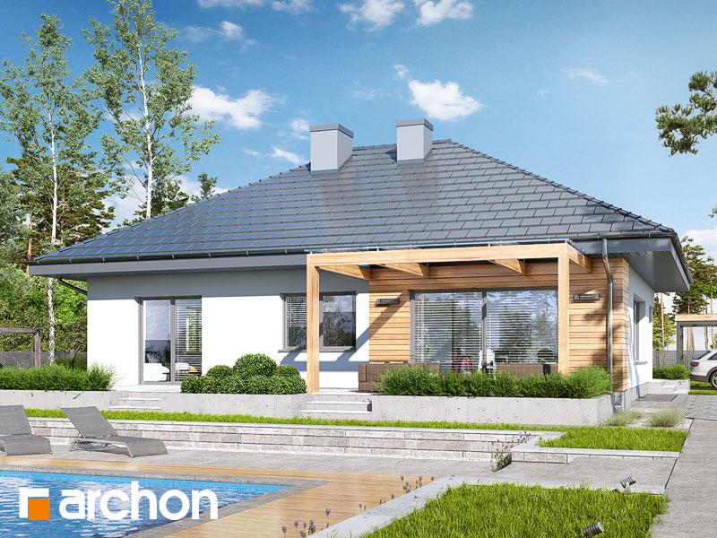 gotowy projekt Dom w lilakach 7 (P) widok 2