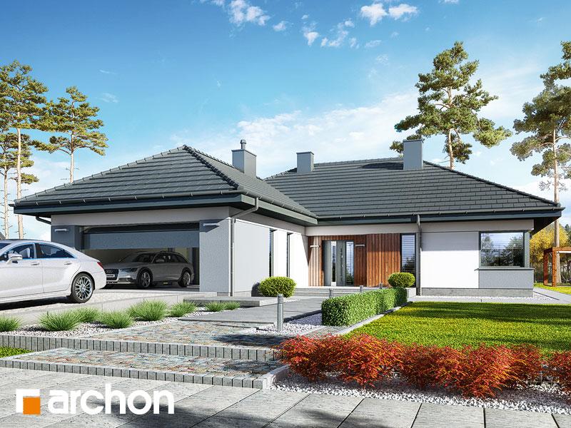 gotowy projekt Dom w ariwach (G2) widok 1