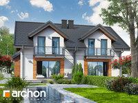 Widok 1 projekt blizniak w jednej dokumentacji dom w klementynkach b 1575373399  259