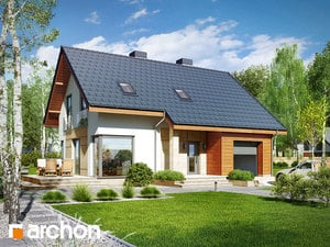 projekt Dom w żurawkach 3 (T)